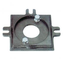 Drehteller für Ganzstahl-Schraubstock, 125 mm