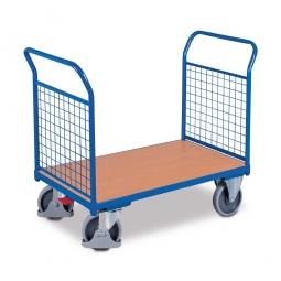 Zweiwandwagen mit Gitterwänden, LxBxH 1030 x 500 x 950 mm, Tragkraft 400 kg