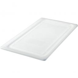 Soft-Deckel für GN-Schale 1/1, LxB 530x325 mm, Polyethylen-Kunststoff (PE-HD), weiß