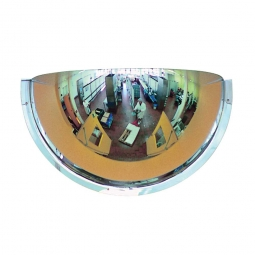 Panoramaspiegel, 180°, LxBxH 900x450x250 mm, Für Innen, max. Beobachterabstand 7 m, Gewicht 4 kg