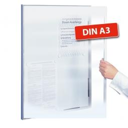 Basic-Schaukasten, für Innen zur Wandmontage, BxH 480x350 mm, Format 2x DIN A4