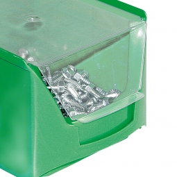Staubdeckel für Sichtbox FUTURA FA4, transparent, VE=10 Stück