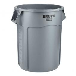 Runder Brute Container, 208 Liter, grau