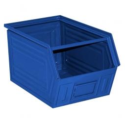 Sichtbox SB2 aus Stahlblech, 41 Liter, blau, LxBxH 520/450 x 300 x 300 mm, blau