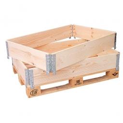Holz-Aufsatzrahmen f. Europlaletten, LxBxH 1200x800x200 mm, Stärke 20 mm,  VE= 10 Stück