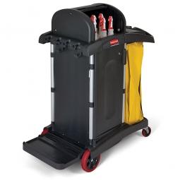 Reinigungswagen Hygen High Security mit verschließbaren Schranktüren