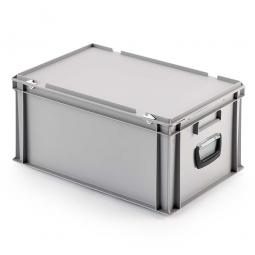 Euro-Koffer, LxBxH 600 x 400 x 290 mm, grau