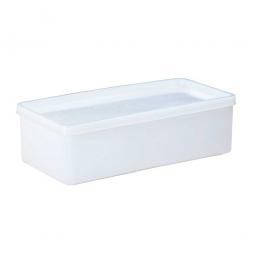 Vorratsbehälter mit dichtschließendem Deckel, 1 Liter, LxBxH 208 x 103 x 64 mm